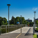 Rideau River Pedestrian/Cyclist Bridge - Adàwe Crossing