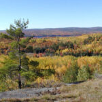 Blueberry Mountain at cliffLAND – Open to the public year-round to come for hikes