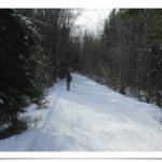 Ottawa Valley Nature Fix in February - The Old K& P Railroad Trail near Renfrew