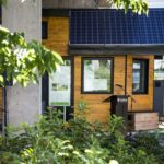"""Northern Nomad"" tiny house - Net-Zero Energy Footprint"