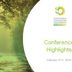 Sustainable 2016 Sustainable Communities Conference and Trade Show: Post-Conference Resources