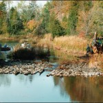 Fish Habitat - Walleye Spawning Bed Enhancement Projects