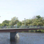 Adàwe Crossing - new pedestrian and cycling bridge over Rideau River